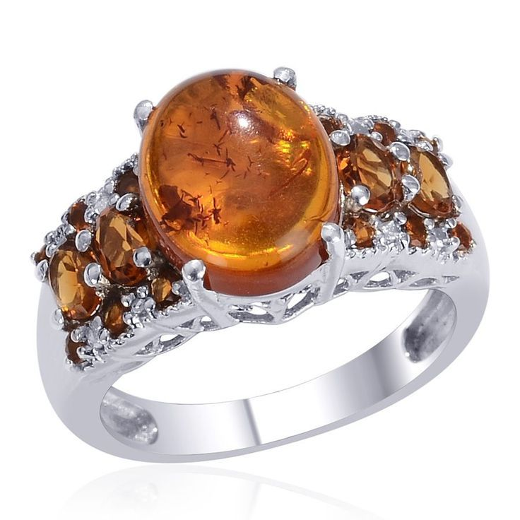   Baltic Amber and S beauty bling jewelry fashion