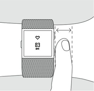 Fitbit heart rate info