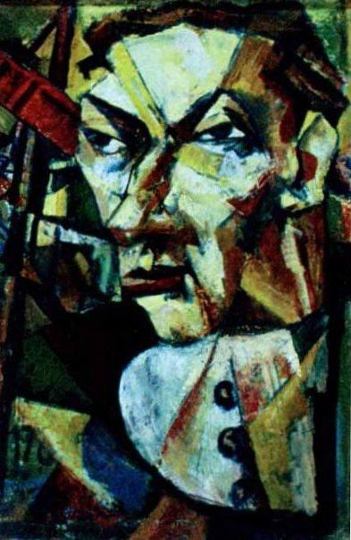 https://flic.kr/p/amEWVZ | Iancu, Marcel (1895-1984) - 1922-24 Portrait of a Man (National Museum of Art, Bucharest, Romania | Marcel Iancu is remembered today as one of the most important Dada artists of Jewish-Romanian origin, a close friend to Tristan Tzara and one of the most interesting and original artists of the last century. Very much in touch with European art and experiments, mixing Romanian traditions, Jewish identity and avantgarde techniques and themes, Marcel Iancu was a…
