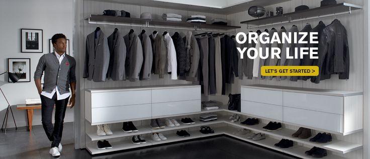 Get custom closets and organization from California Closets