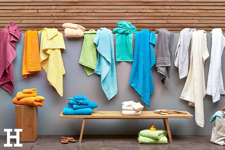 Chaotisch Aber Sortiert Handtucher Bunten Farben Meinhoffi Handtuch Towel Bath Badezimmer Bathroom Badezimmer Einrichtung Badezimmerideen Tuch