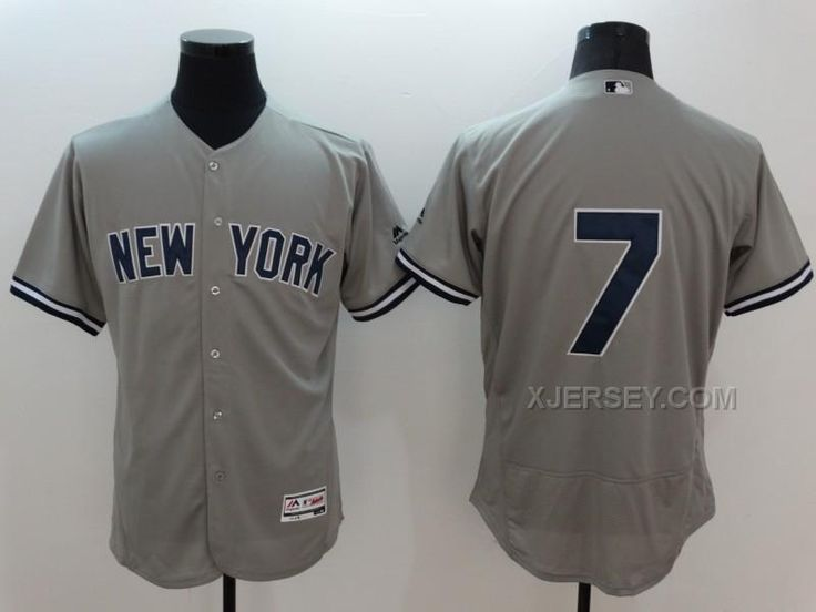 860c2af12fa Youth Grey Mickey Mantle Road Jersey - New York Yankees 7 Majestic MLB  httpwww.xjersey.comyankees-7-mickey-. Mickey MantleNew York YankeesLou ...