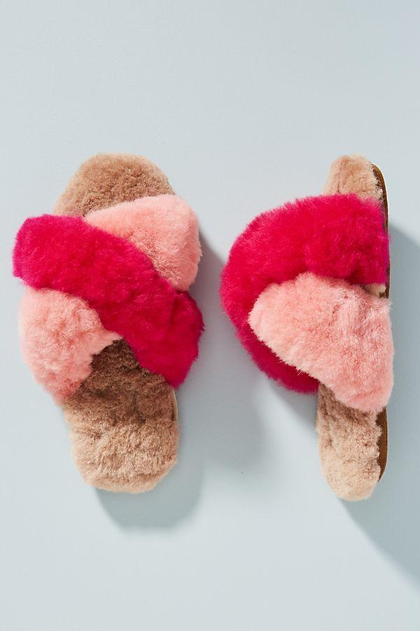 Ariana Bohling Criss Cross Slippers