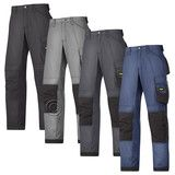 Snickers Cordura Work Trousers with Kneepad Pockets(4 Colours/L-XL Leg)-3313A