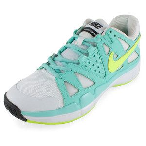 For players looking for responsiveness and are light on their feet, the Nike Women's Air Vapor Advantage Tennis Shoes offer a lightweight built for fast techniques on the tennis court. The Air-sole unit creates impact protection while the XDR rubber compound provides long-lasting durability.Upper: Lightweight combined with comfort for a responsive fit and feel.Midsole: Encapsulated Air-sole unit for responsive cushioning.Outsole: XDR Rubber compound gives great durability while a midfoot ...