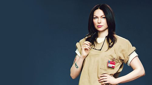 "Laura Pepron as Alex Vause in ""Orange is the  New Black"". <3 LOVE HER!"