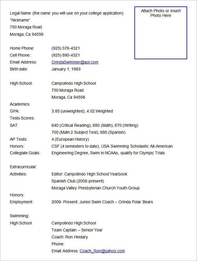 Resume Format Free | Resume format download, Sample resume ...