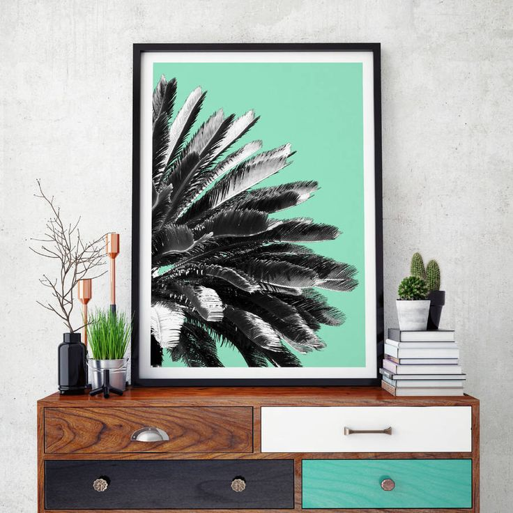 I've just found Palm Tree Wall Art Print. Bring a little piece of summer sunshine to your home with these colourful botanical prints feature the elegant Pheonix Canariensis Palm print.. £38.00