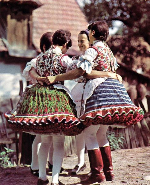 I'm pretty sure this is Hungarian but it is very similar to some Transcarpatian costumes