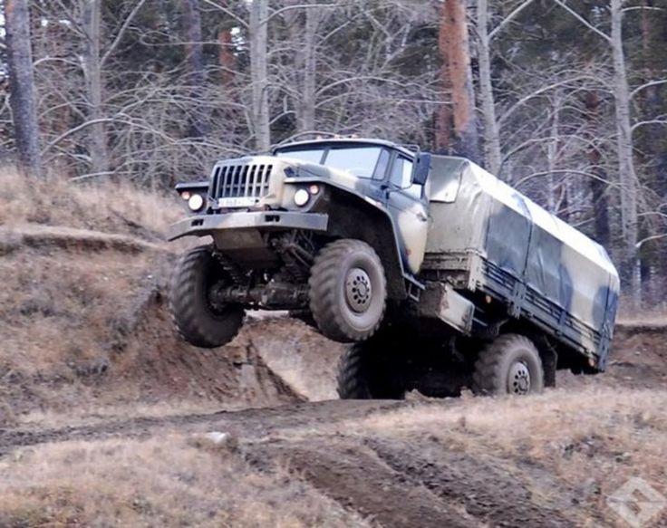 Russian truck Ural