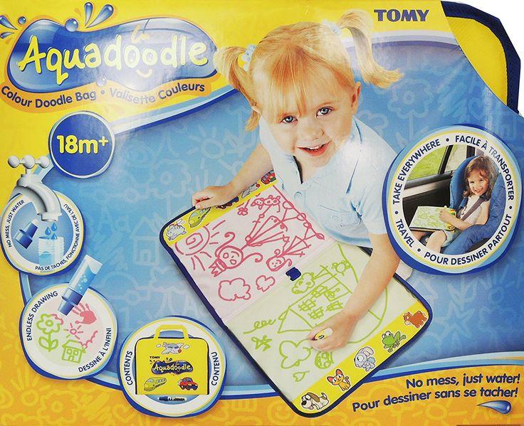 Tomy Aquadoodle - T72369 - Crayon de Couleurs - Valisette Aquadoodle Couleur: Amazon.fr: Jeux et Jouets