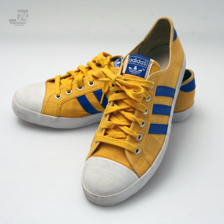 19070s adidas adria sneakers authentic original vintage canvas turnschuhe schuhe in kleidung. Black Bedroom Furniture Sets. Home Design Ideas