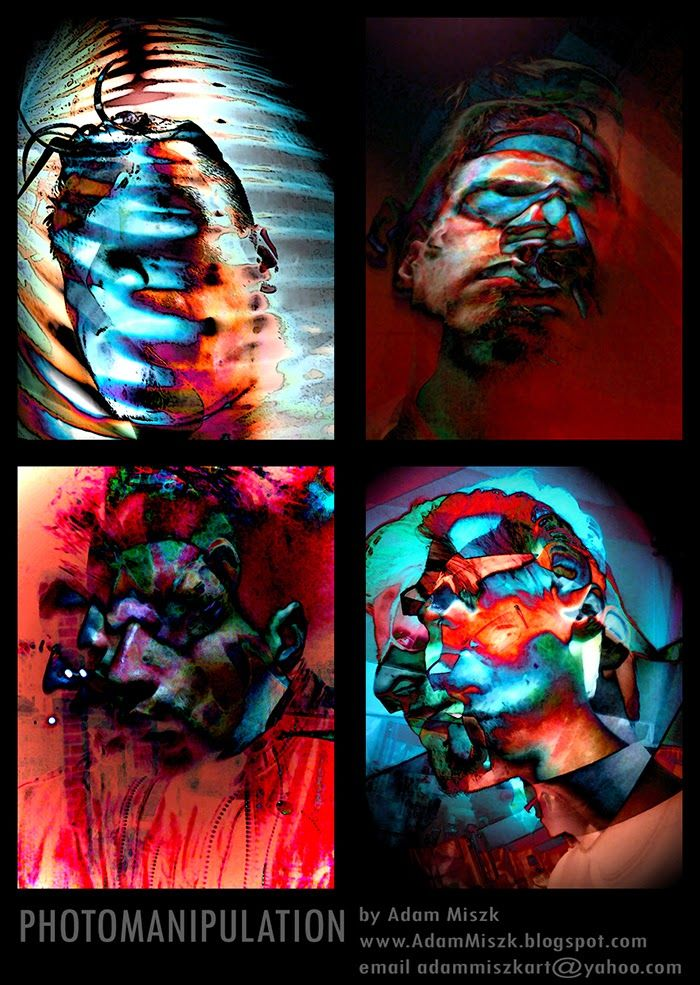 'Photomanipulation' by Adam Miszk #visionaryart #art #digital #contemporaryart #fineart #digitalart #horrorart #psychedelic #photomanipulation #photomontage