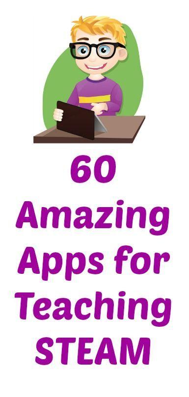 The Best Apps for Teaching STEAM (Science, Technology, Engineering, Art, and Math) #weareteachers
