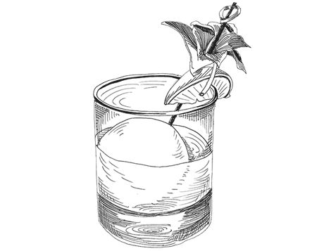 Pin by Lily Nuttiya Wisootsat on bars | Cocktails drawing