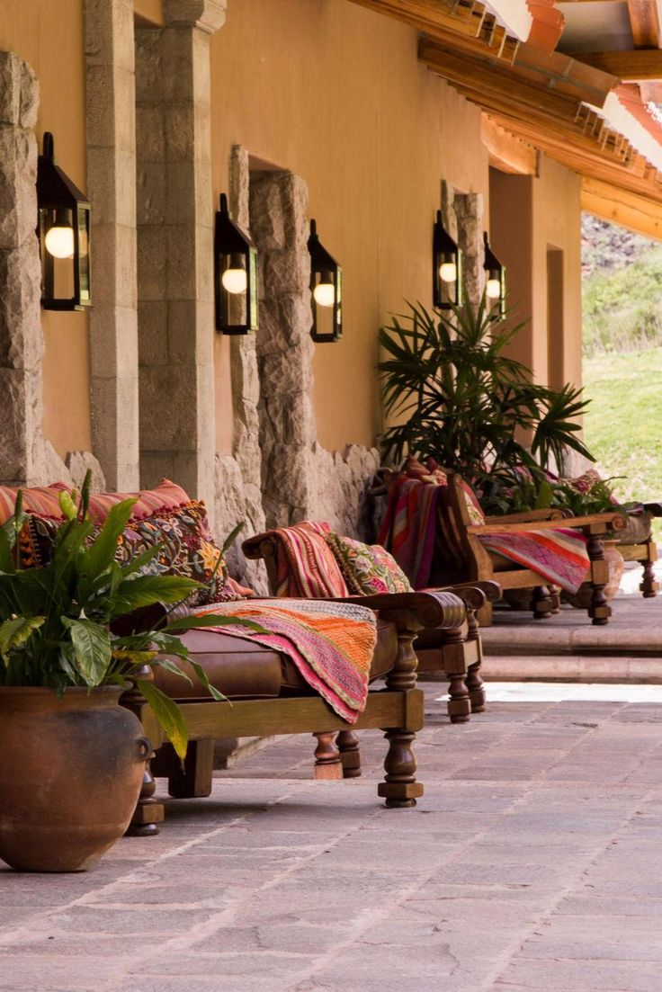 For those who prefer a slower pace, bird-watching (there are 30 species on the lodge grounds) and llama cart rides are available. Inkaterra Hacienda Urubamba (Peru) - Jetsetter