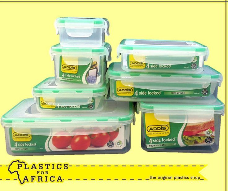 Keep your food fresher for longer in these 4 side lock containers. Available from your nearest #PlasticsforAfrica branch.