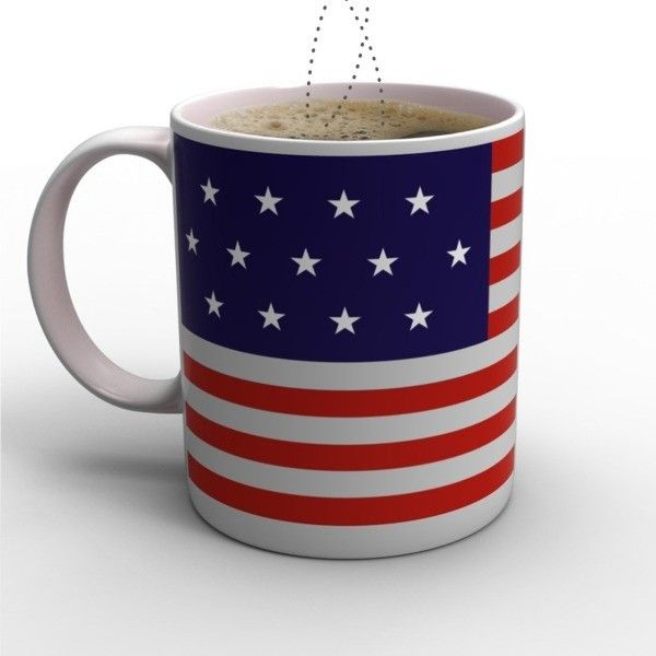 Stars and Stripes Mug by The Cottage Industry