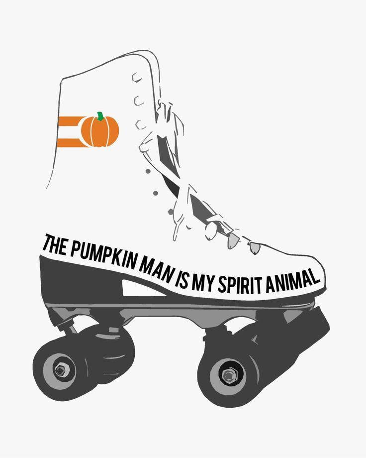 "Lentil Bean Press | The Pumpkin Man is My Spirit Animal Circleville Pumpkin Show 8""x10"" Print by lentilbeanpress on Etsy"