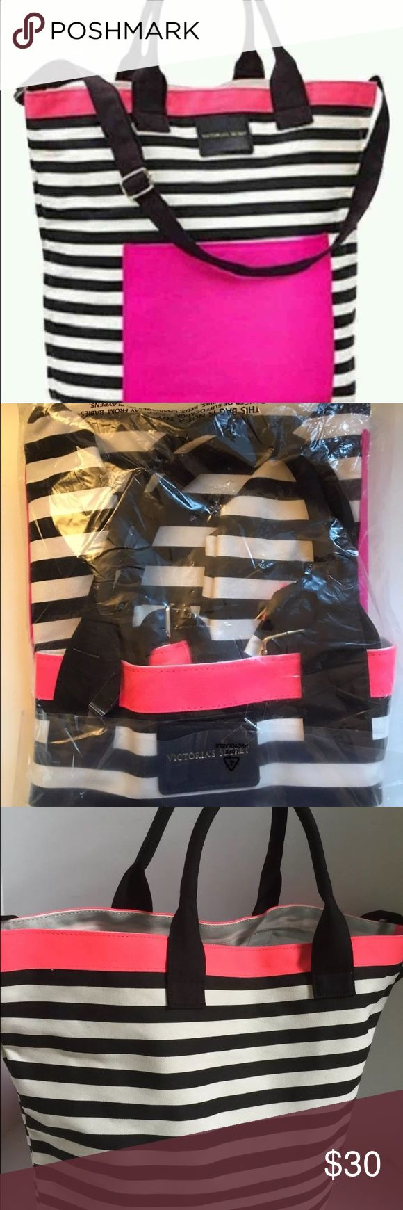 NEW VICTORIA SECET TOTE BAG Brand new with tags VS TOTE BAG PINK Victoria's Secret Bags Totes