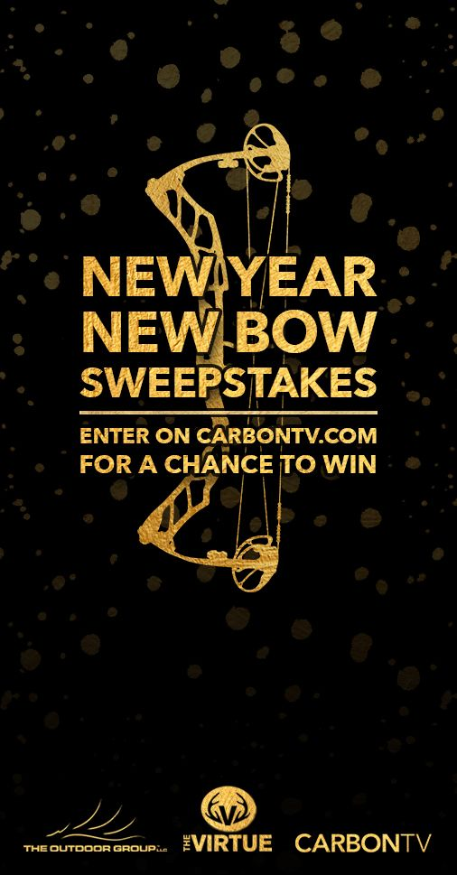 1/31.WIN hunting prize packs in CarbonTV's New Year, New Bow #Sweepstakes