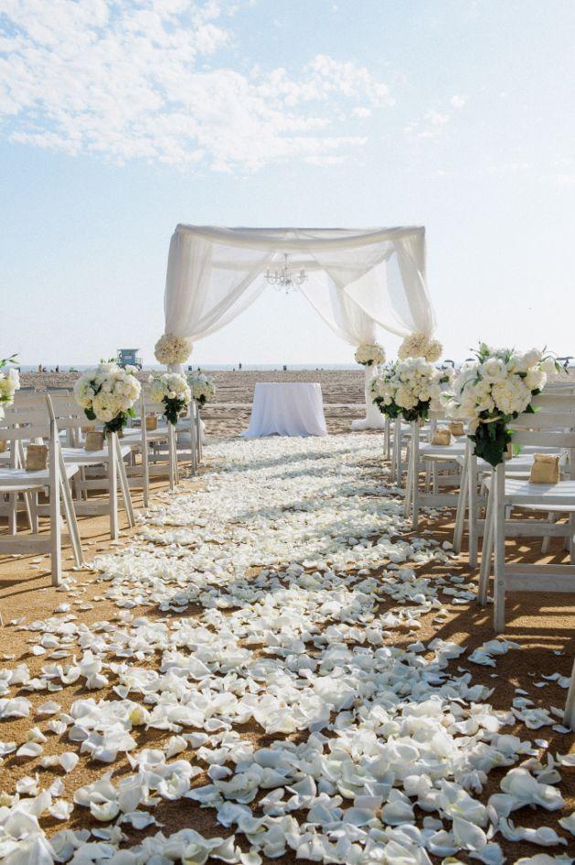 17 Beach Wedding Ideas You've Never Seen Before   Desiree Hartsock