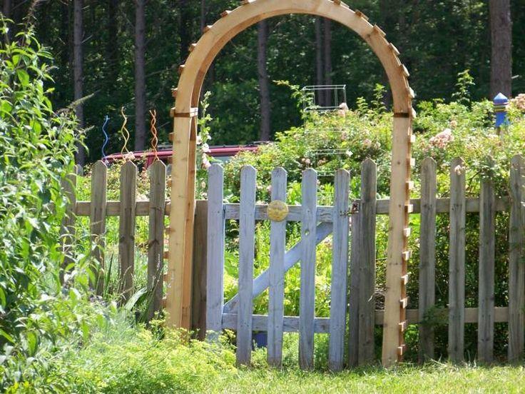 17 meilleures id es propos de portillon sur pinterest for Petit portillon en bois