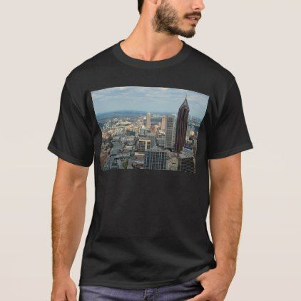 #Atlanta Skyline T-Shirt - #travel #clothing