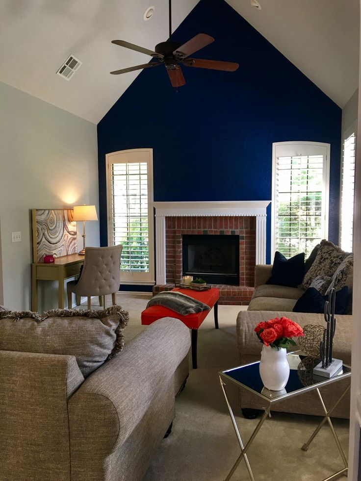 best 20 navy accent walls ideas on pinterest blue. Black Bedroom Furniture Sets. Home Design Ideas