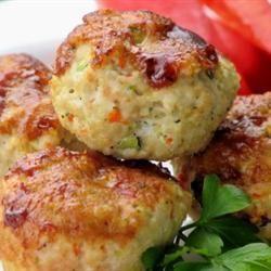 Muffins de pain de viande à la dinde et aux légumes @ qc.allrecipes.ca