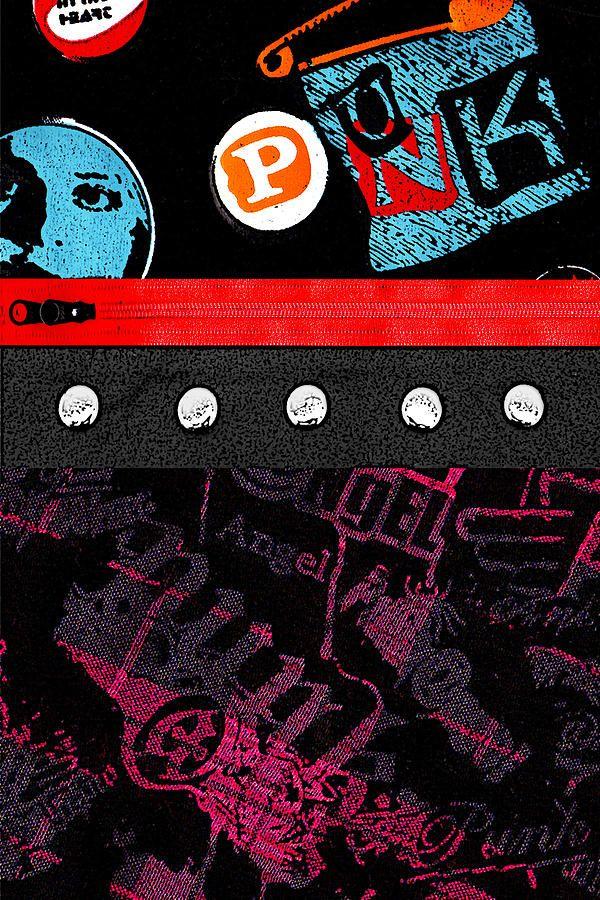 Punk 4 of 6 by Roseanne Jones