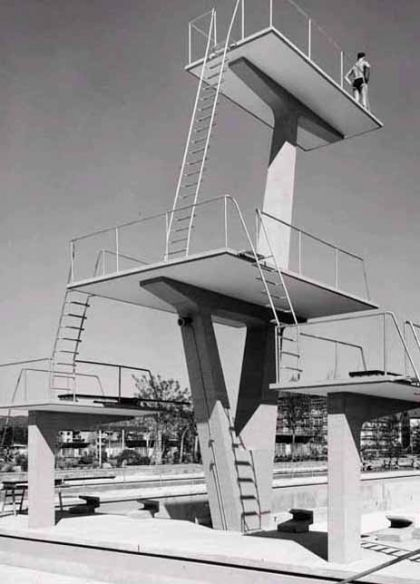 180 best images about pool diving boards on pinterest - Swimming pool diving board regulations ...
