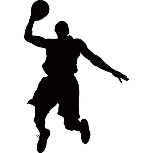 basketball silhouette - Google Search | Sports graphics ...