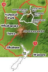 The famous Tongariro Northern Circuit is one of the New Zealand treks that are termed the Nine Great Walks in NZ. This is a longer experience than the one day New Zealand Tongariro Trek and is for the moderately fit walker at the least.  North Island 4 to 5 days  You need a pass during Peak Season, October to June.
