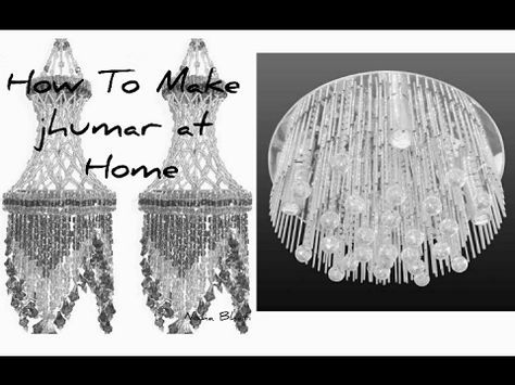 How to make jhumar at home.Very simple design hai jhumar ka.ple like comment and subscribe. - YouTube
