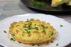 Eine kleine aber feine Kartoffeltarte mit Ziegenkäse. Nach einem Rezept von Björn Freitag, dem Sternekoch :) #tarte #tartelettes