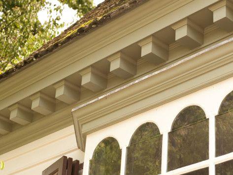 Greg Dentil Molding Historic Colonial Williamsburg Home