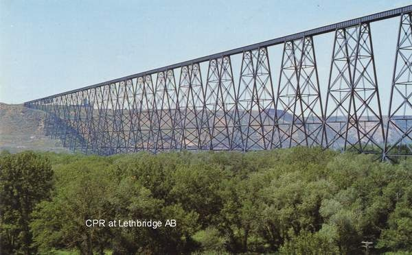 CP trestle at Lethbridge, Alberta.