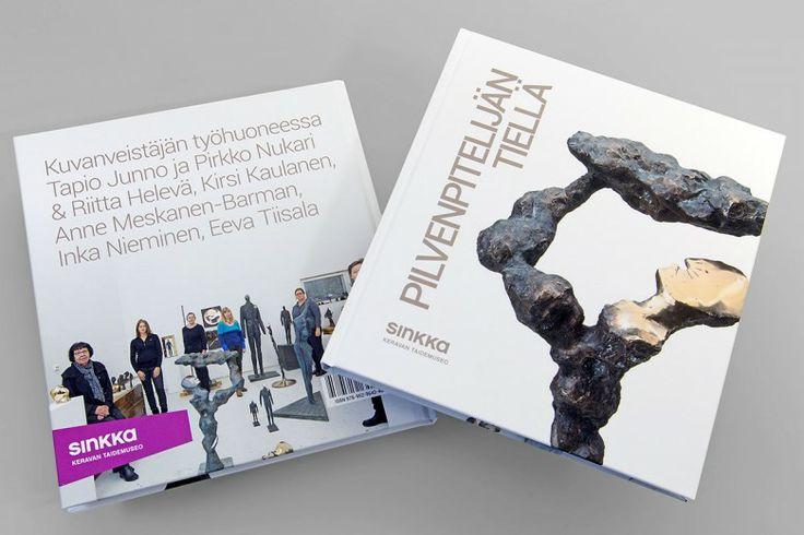 Pilvenpitelijän tiellä – book design.  Intro Design.