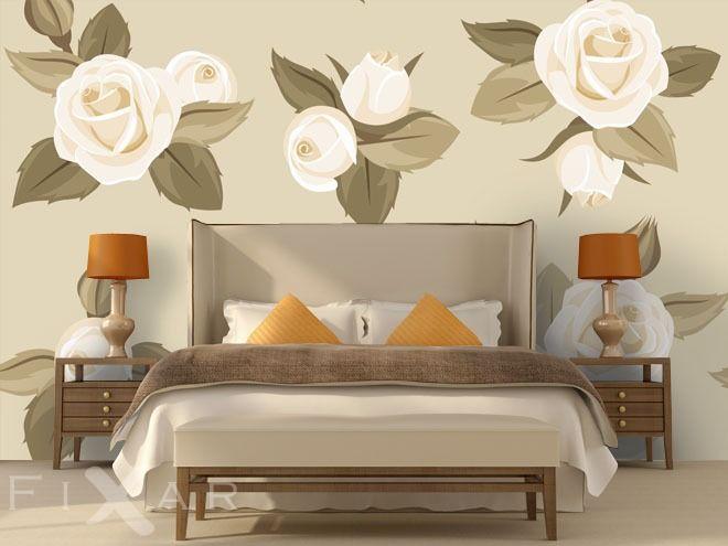 Unter die Rosen