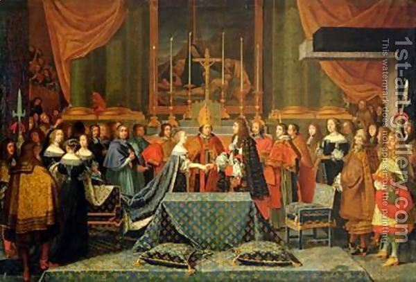 Marriage of Louis XIV and Maria Theresa
