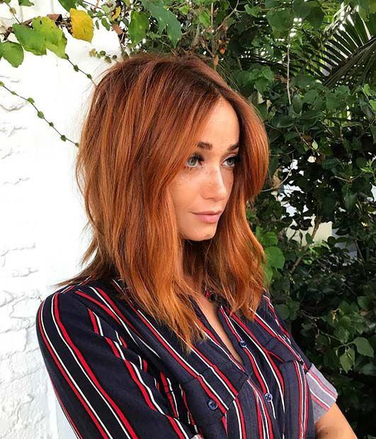 23 Stilvolle Lob Frisuren für Herbst und Winter