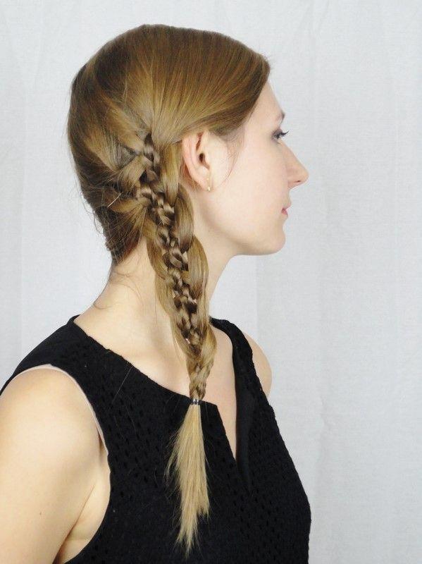 Tresse à 5 brins - 5 strand braid