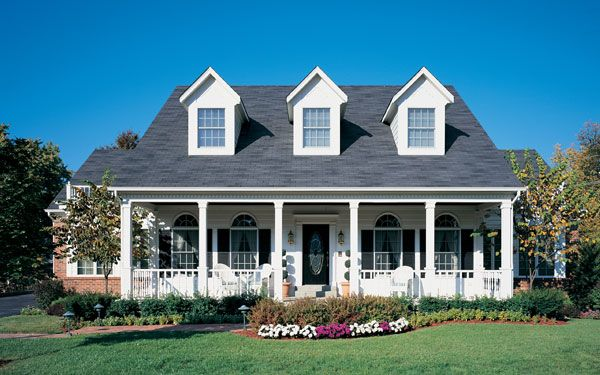 cape cod homes | American Colonial Homes - House Plans and More