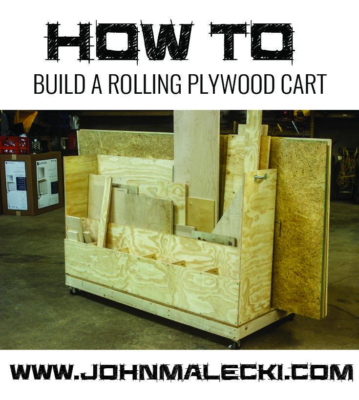 512 best shop ideas images on pinterest woodwork for Sheet goods cart