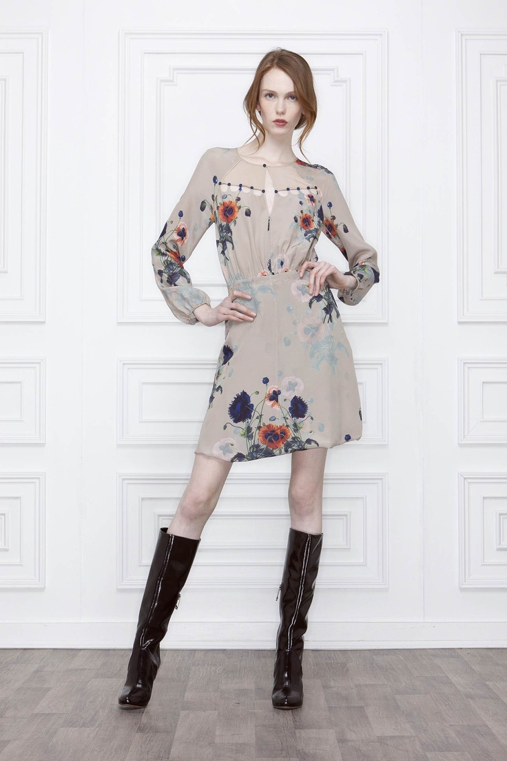 Gorgeous: Anthropology, Poppies Dress, Cute Dresses, Clothes, The Dress, Fashionfall Dresses, Ottomans, Ottoman Poppies, Boots