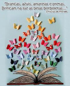 Pra Gente Miúda: Mural para primavera com borboletas de papel