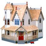 <strong>Pierce Dollhouse</strong> by Greenleaf Dollhouses