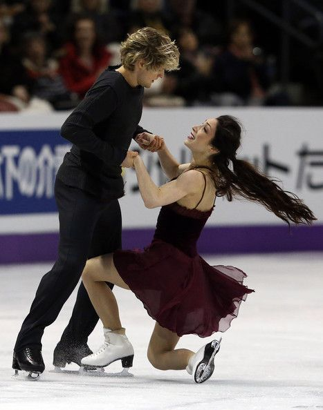 Meryl Davis and Charlie White at the 2013 World Figure Skating Championships