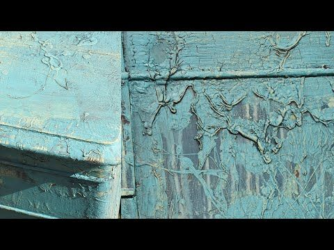 Speed dry the paint and create a weathered look - YouTube